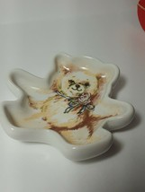 Vintage AVON Honey Bear Tea Bag Holder from The Gift Collection NIB! - $9.74