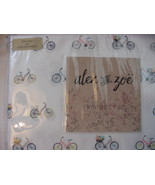 Alex and Zoe Bicycles and Flower Baskets Microfiber Sheet Set Twin - $41.00