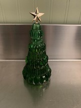 Vintage 1970s Avon YULETREE Field Flowers Cologne Glass Decanter Bottle Box NOS - $13.07