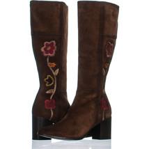 Frye Nova Kniehohe Stiefel 832, Braun, 8 US - $292.80