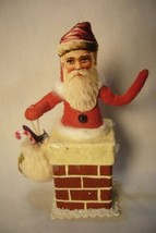 Vintage Inspired Spun Cotton, Chimney Santa,  no. 89 image 1