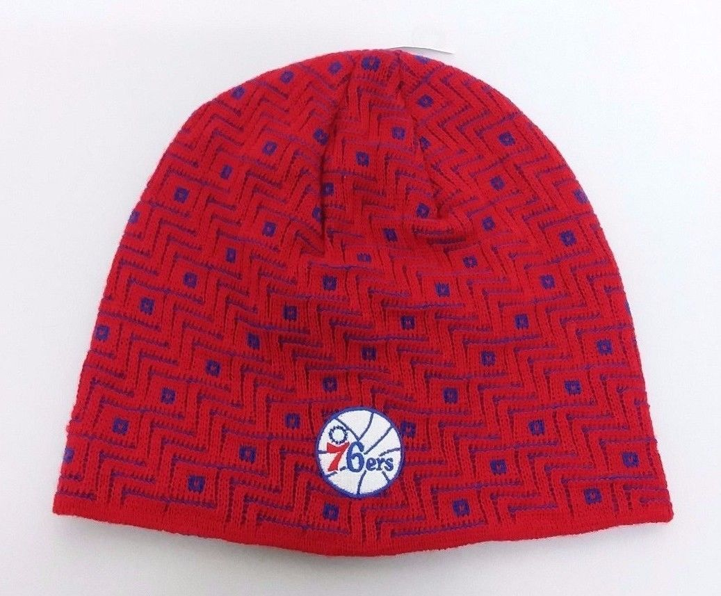 01d0a0f81bb 57. 57. Previous. Philadelphia 76ers NBA adidas Red Winter Fitted Knit  Beanie Hat Skully Cap OSFM