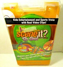 NEW Mattel JR. Scene It? To Go The DVD Game Kids Entertainment & Sports ... - $9.75