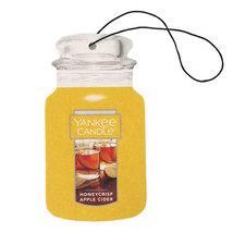 12 new yankee candle classic car jar air freshener honeycrisp apple cide... - $26.00