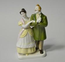 Russian Soviet Lomonosov LFZ Porcelain Figurine MANILOV Gogol Dead Souls - $267.20