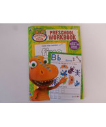 PBS Kids Preschool Workbook Dinosaur Train Ages 3+ Activity Book By Bendon - $2.95