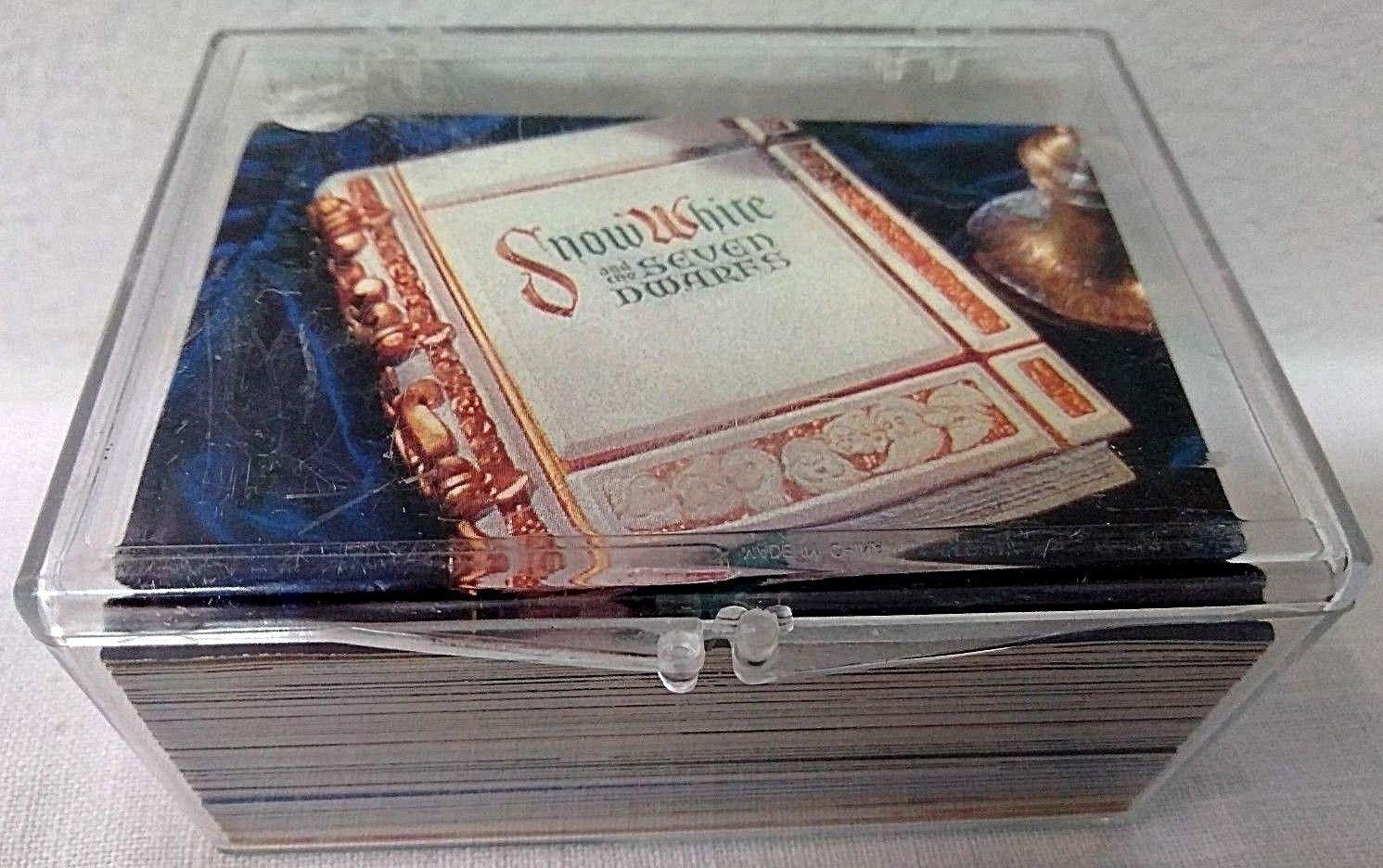 WALT DISNEY'S SNOW WHITE & THE SEVEN DWARFS TRADING CARDS