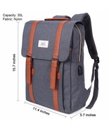 """15.7""""  Laptop Notebook Anti-theft  Backpack USB Charge Computer Travel B... - $28.59"""