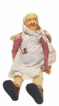 "Vtg 1980 Billie Peppers 30"" Grandma Grandmother Woman Doll Granny Meemaw Nana image 1"
