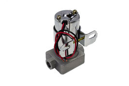 A-Team Performance 30-155 Electric Inline Fuel Pump 12V 155 GPH at 14PSI Chrome image 4