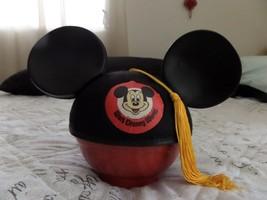Vintage Mickey Mouse Club Walt Disney Company Felt Hat / Ears-Tassel Benay Albee - $39.59