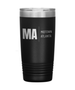 Midtown Atlanta Vacuum Insulated Stainless Steel Tumbler 20 OZ Powder Co... - $34.99