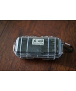 Pelican 1030 Micro Case (Clear Black) with 8 AA batteries holder - $11.75