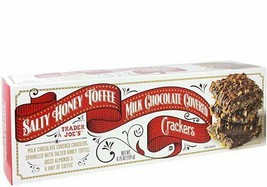 Trader Joe's Salty Honey Toffee Milk Chocolate Covered Crackers - $13.85
