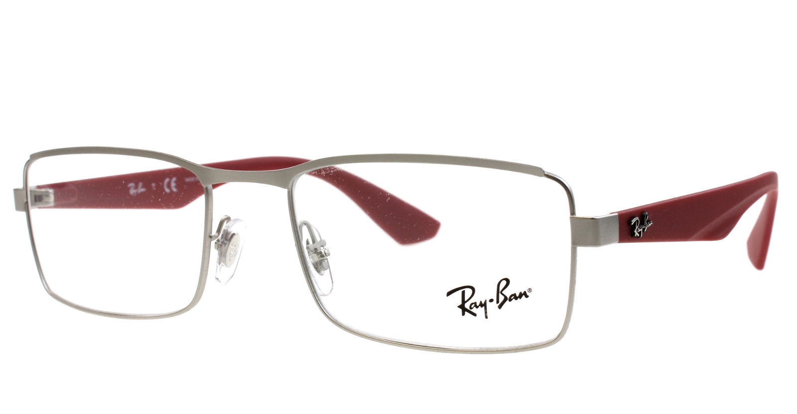 1a491879d93 57. 57. NEW RAY-BAN RB 6332 2538 GUNMETAL EYEGLASSES AUTHENTIC FRAMES RX  RB6332 53-18. Free Shipping