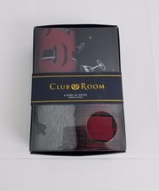 Club Room Mens 4 Pack Sock Assortment Gift Set Gentleman Themed One Size - $9.99
