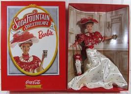 New 1996 Soda Fountain Sweetheart Barbie Coca Cola Fashion Classic Serie... - $28.01
