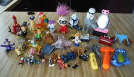 48 Assorted Toys sponge bob Star wars dog cat my little pony dolls Troll... - $14.36