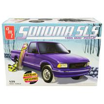 Skill 2 Model Kit 1995 GMC Sonoma SLS Pickup Truck with Snowboard and Bo... - $56.42