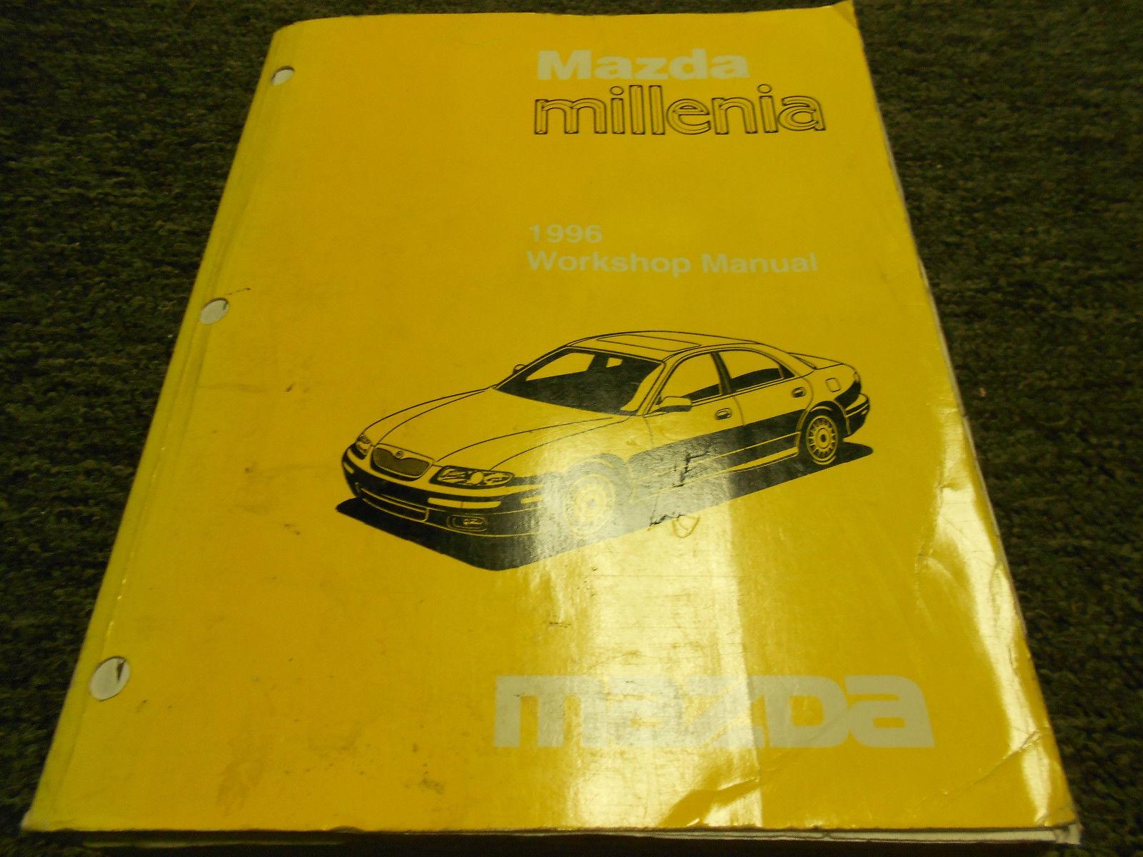 ... 1996 Mazda Millenia Service Shop Repair Workshop Manual Set FACTORY OEM  W ETM ...