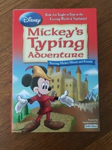 NEW! Disney Mickey's Typing Adventure PC Disc Computer - Free Shipping - $14.99