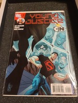 YOUNG JUSTICE 1 April 2011 9.2-9.4 NM-/NM DC - 1ST APPEARANCE OF GREG WI... - $12.18