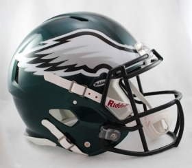 Philadelphia Eagles Helmet Riddell Authentic Full Size Speed Style**Free Shippin - $290.00