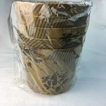Vintage Style Themed Elegant Plant Flower Pot Covers Cover Ups Lot 5 Est... - $15.75 CAD