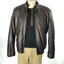 Levis Faux Leather Jacket Sz M EUC image 2