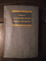 Vintage 1st Edition ©1952 BLAKISTON'S ILLUSTRATED POCKET MEDICAL DICTIONARY - $14.24