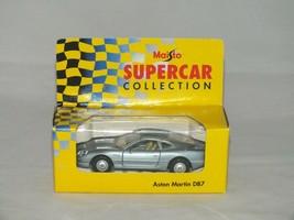 Vintage Aston Martin DB7 Silver 1:40 Scale Maisto Supercar Sports Car Collection - $10.62