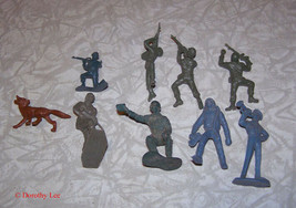 Toy Soldier Play Set Figure Lot Marx MPC 1960s - $16.99