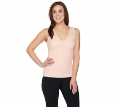 Sonic Slimmers by Kathleen Kirkwood Body/Bust Minimizing Tank, Mood, Small - $9.89
