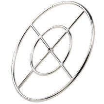 Fire Pit Burner Ring Stainless Steel - $57.99