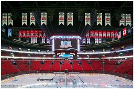NHL Montreal Canadiens Bell / Molson Center Rafters Cup Banners 8 X 12 P... - $8.99