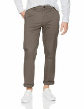 NWOT Goodthreads Men's Straight-Fit Washed Stretch Chino Pant, Grey, 42W... - $19.86