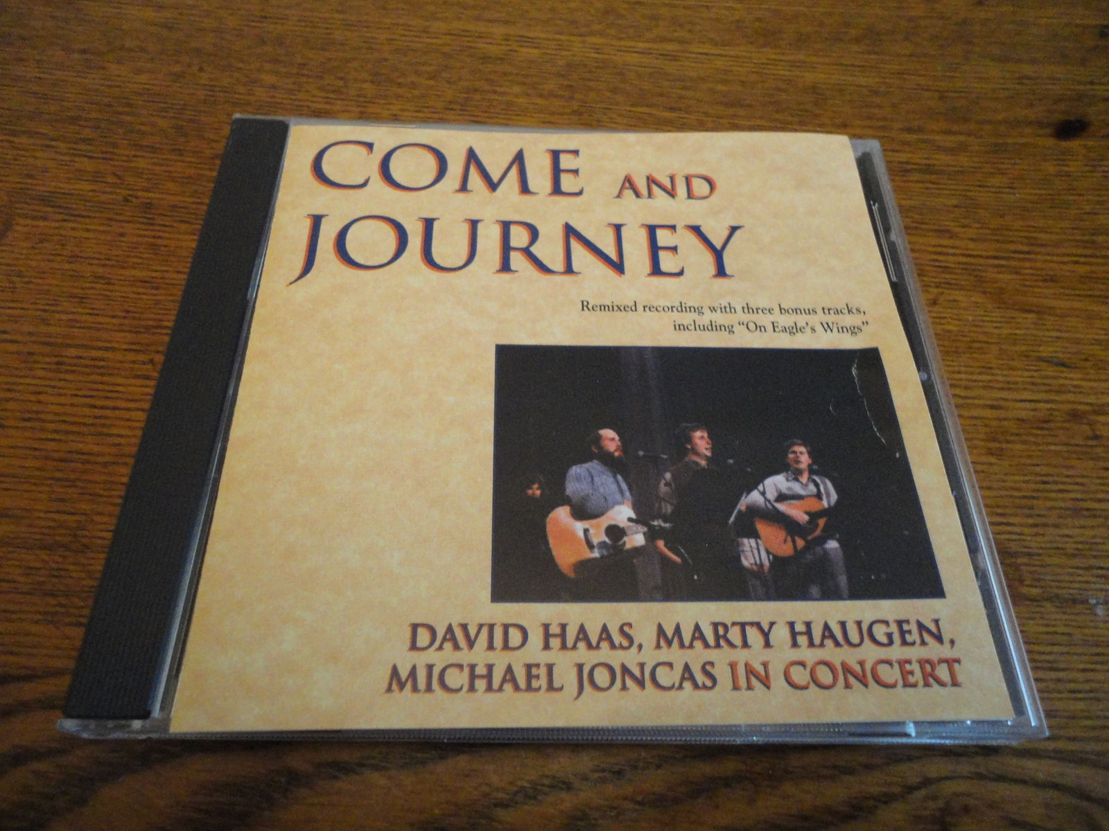 CD David Haas/Marty Haugen/Michael Joncas 'Come and Journey' live Christian 1995