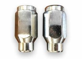 "Wheel Tite ET Chonical 7/16""-20 Chrome Wheel Lug Nut Set Of 2-Pcs 716N 7... - $12.98"