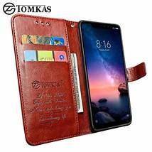Flip Leather Case Xiaomi Redmi Note 6 Pro Mi A2 Lite Xiomi Wallet Vintage - $13.31