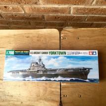 Tamiya U.S. Aircraft Carrier Yorktown Model, Water Line Series - $18.80