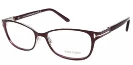 New Tom Ford TF5282 048 52MM Violet  Metal Eyeglasses FT5282 W/Brand Case - $445.50