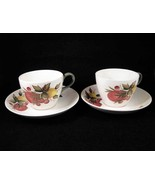Wedgwood China Covent Garden Tea Cups & Saucers... - $16.00