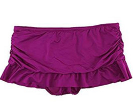 Apt 9 Swim Skirt Skirted Skirtini Swimwear Bikini Bottom Purple Magenta ... - $18.80+