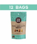 Second Nature Dark Chocolate Medley Trail Mix Healthy Snack - A Nut Love... - $43.97