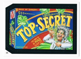 2005 Topps Wacky Packages Series 2 Top Secret Trading Card 35 ANS2 - $9.99