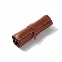 hevitz 5507 Rolling Pen Pouch 5 Slot 5 Slot Deep Brown - $41.13