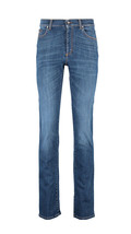 "VERSACE COLLECTION Blue Straight Leg Jeans W 40"" L 32"" BNWT - $230.35"