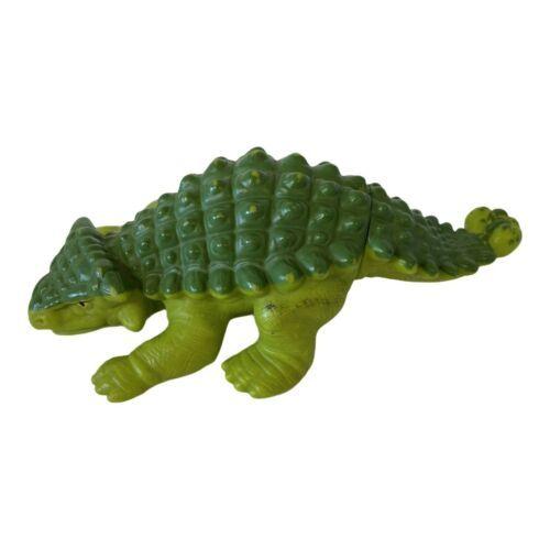 1988 Playskool Definitely Dinosaur Anklyosaurus Miniature Action Figure Green - $9.49