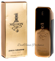 1 Million By Paco Rabanne For Men Edt Spray, 3.4 Ounce - $56.00
