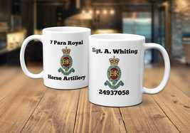 7 Para Royal Horse Artillery Personalised Coffee/Tea Mug - $11.25